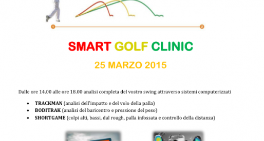 25 marzo SMART GOLF CLINIC al GC Terme di Galzignano
