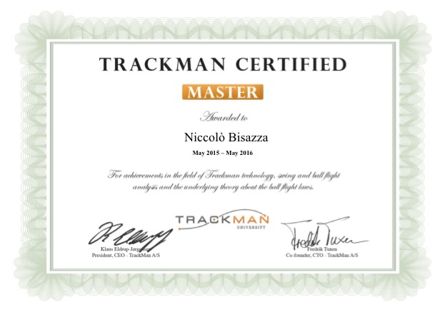 Trackman University Master extension