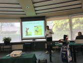 "Presentando ""Teaching with Trackman"" al workshop ℅ Golf Monticello"